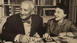William y Elizebeth Friedman (Crédito: Museo Nacional Criptológico / Wikimedia)