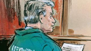 رسم لبول مانافورت في المحكمة