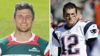 Tom Brady and Tom Brady