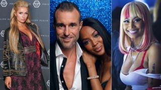 Paris Hilton, Naomi Campbell and Nicki Minaj