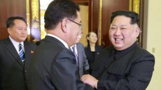 उत्तर कोरिया, दक्षिण कोरिया, शांतता प्रक्रिया