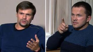 Alexander Petrov y Ruslan Boshirov