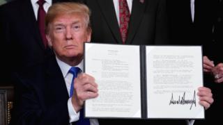 Rais Trump ametangaza mpango wa kutangaza ushuru mpya dhidi ya China wa hadi $60bn dhidi ya bidhaa za China