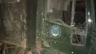 السيارة التي استهدفت