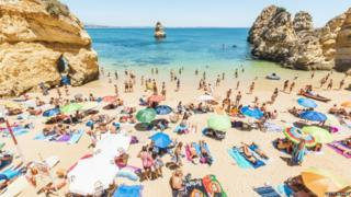 Camilo Beach, Lagos, Portugal