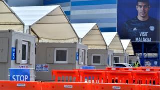 Cardiff City Stadium testing centre