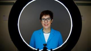 Christian Democratic Union (CDU) candidate for the party chair Annegret Kramp-Karrenbauer poses for a portrait before a Reuters interview in Berlin, Germany