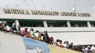 Murtala Muhammed Airport in Lagos, Nigeria