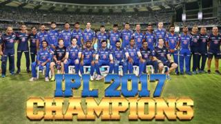 मुंबई इंडियंस की विजेता टीम