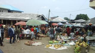Market for Buea, South West Cameroon