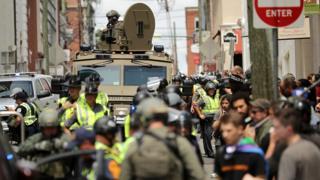 Столкновения в Вирджинии