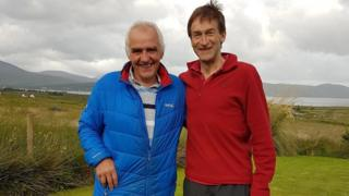 David Campbell and Rev Dr Rory MacLeod