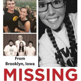Mollie Tibbetts missing poster