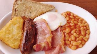 LNER breakfast