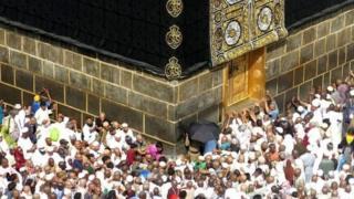 Miliyoyin Musulmai ne ke aikin Hajji a kowace shekara