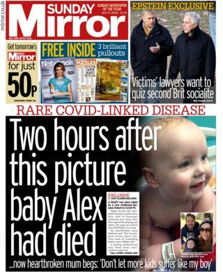 Sunday Mirror 17 May 2020