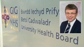 Gary Doherty the new chief executive of Betsi Cadwaladr University Health Board