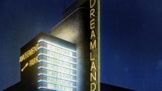 Dreamland neon lighting