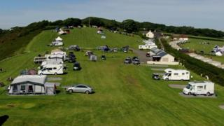 positive news Three Cliffs Bay Holiday Park
