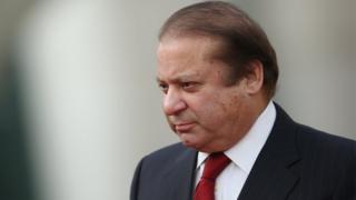 El primer ministro de Pakistán, Nawaz Sharif