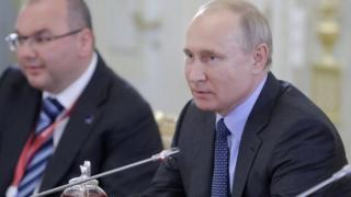 О деле Калви Владимир Путин высказался на встрече с руководителями международных информагентств в рамках Петербургского экономического форума