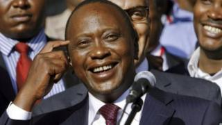 Prezida Uhuru Kenyatta wa Kenya