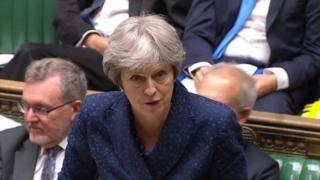 The Prime Minister Teresa May