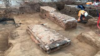 Brick coffins