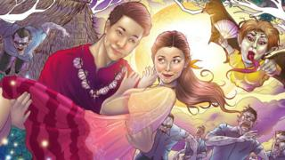 Fan art of 'AlDub'