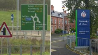 The A5 project and Magee campus