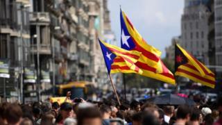 Демонстрация в Барселоне