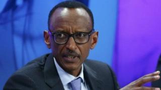 Prezida w'Urwanda Paul Kagame