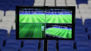 VAR screens