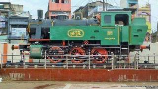 तिरहुत रेलवे का इंजन