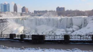 Niagara beku