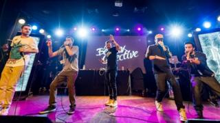 The Beatbox Collective on stage