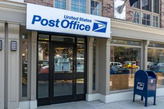 A post office in New York