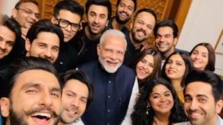 Jaruman Bollywood da Firaminista Narendra Modi
