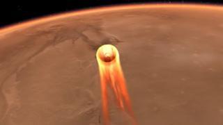 InSight входить в атмосферу Марса