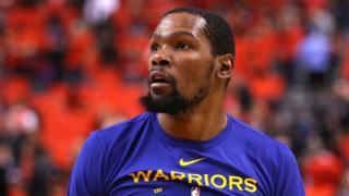 Kevin Durant yameje ko azava mu ikipe ya Warriors akajya muri Nets