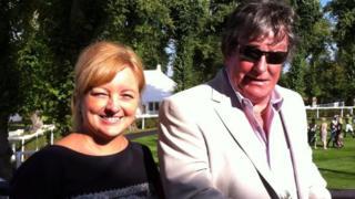 Chris Henkey and partner Lenka Nevolna