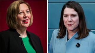 Lesley Laird and Jo Swinson