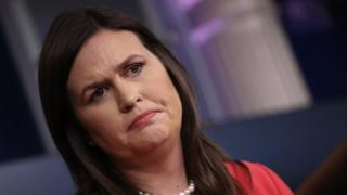 White House Press Secretary Sarah Sanders