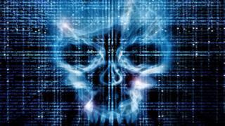 Calavera en el ciberespacio