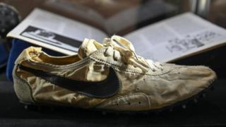 The 1972 Nike Waffle Racing Flat Moon Shoe