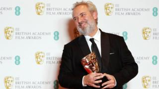 1917 director Sir Sam Mendes at the Baftas