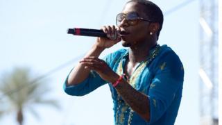Rapper Lil B