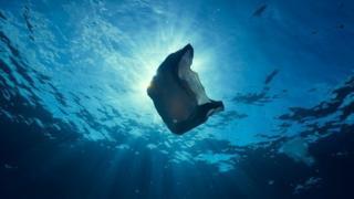 مخلفات بلاستيكية في مياه البحار والمحيطات