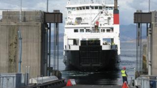 MV Coruisk at Armadale
