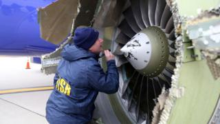 Вигляд літака після аварії